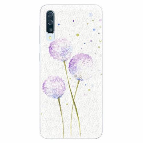 Silikonové pouzdro iSaprio - Dandelion - Samsung Galaxy A50