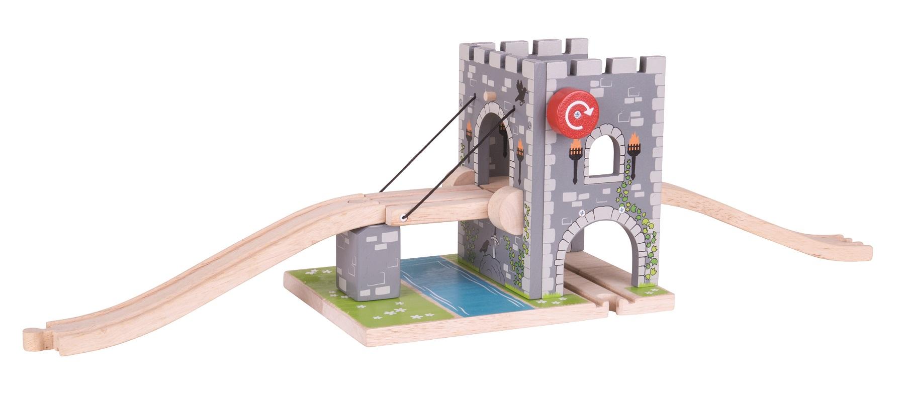 Bigjigs Rail Padací most