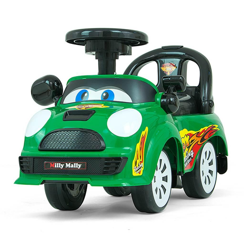 Dětské jezdítko se zvukem Milly Mally JOY - green - zelená