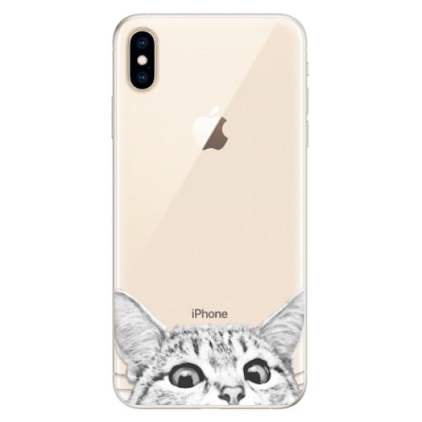 Silikonové pouzdro iSaprio - Cat 02 - iPhone XS Max