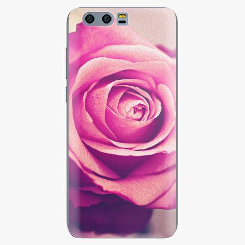 Plastový kryt iSaprio - Pink Rose - Huawei Honor 9