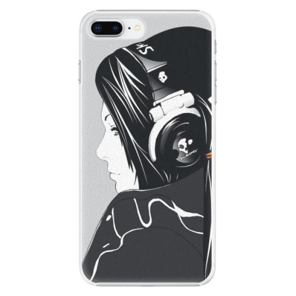 Plastové pouzdro iSaprio - Headphones - iPhone 8 Plus