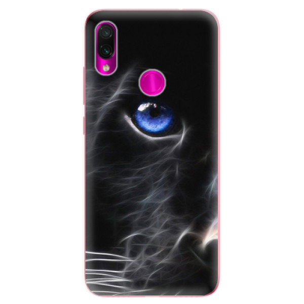 Odolné silikonové pouzdro iSaprio - Black Puma - Xiaomi Redmi Note 7