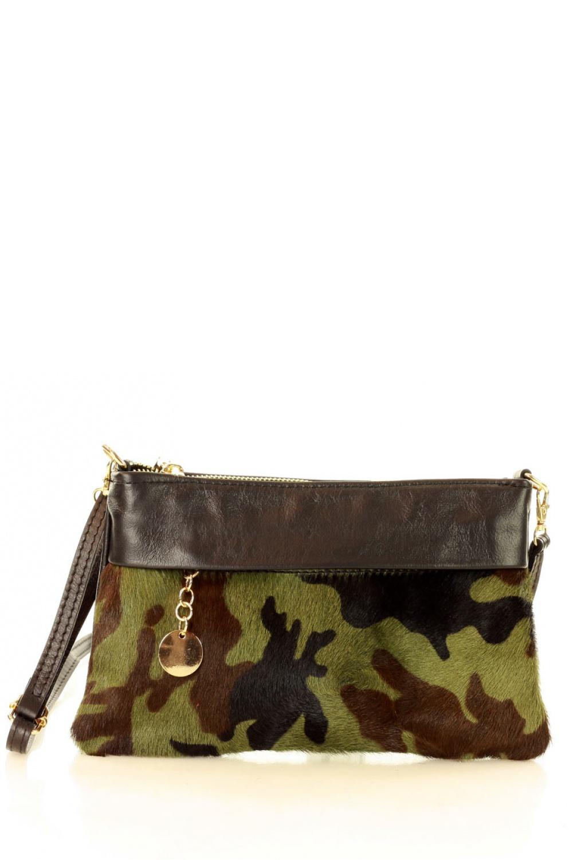 Přírodní kožená taška model 136569 Mazzini - UNI velikost