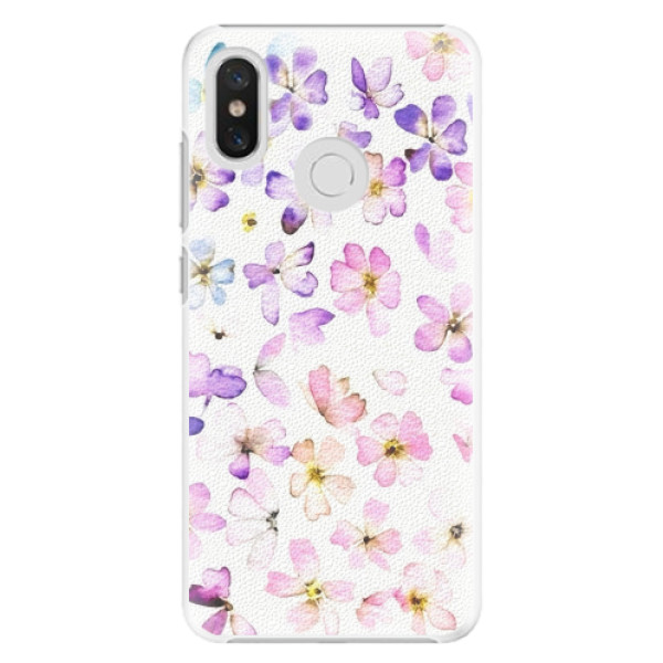 Plastové pouzdro iSaprio - Wildflowers - Xiaomi Mi 8
