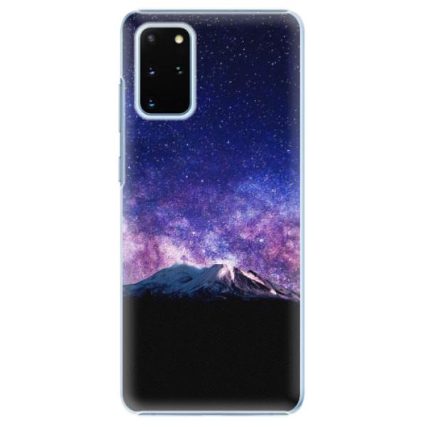 Plastové pouzdro iSaprio - Milky Way - Samsung Galaxy S20+