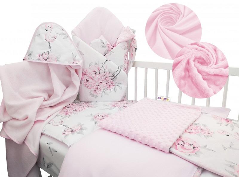 Baby Nellys 6-ti dílná výhodná sada s dárkem pro miminko