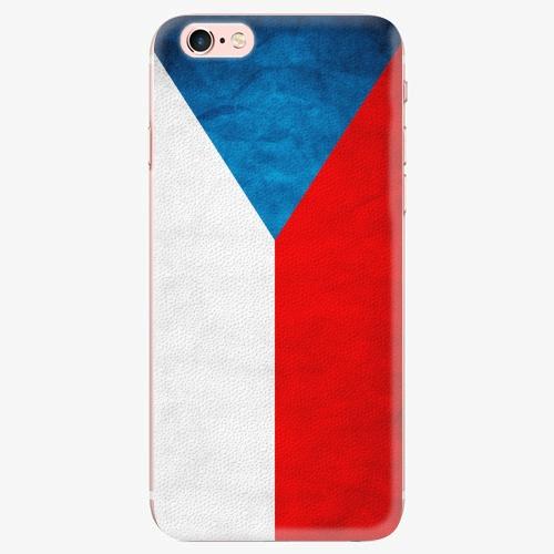 Plastový kryt iSaprio - Czech Flag - iPhone 7