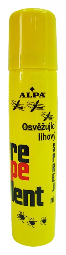 Repelent, odpuzuje bodavý hmyz i klíšťata, 90 ml