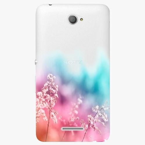 Plastový kryt iSaprio - Rainbow Grass - Sony Xperia E4