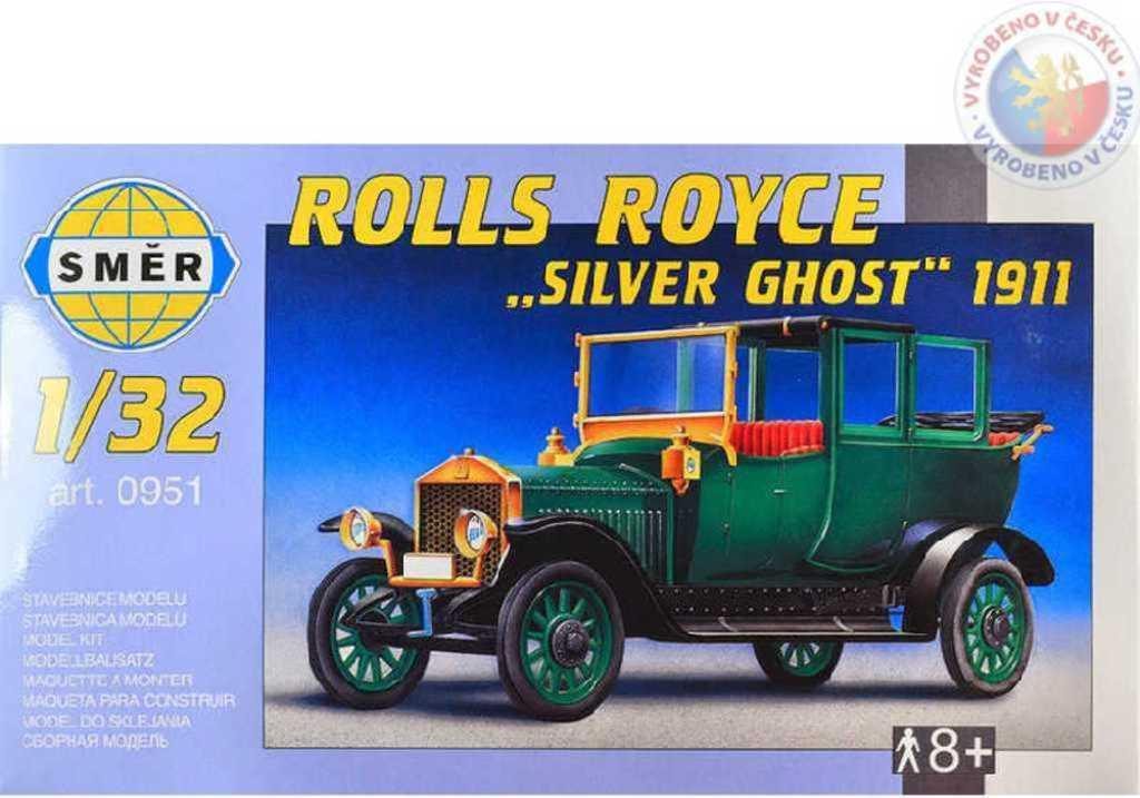 SMĚR Model auto Rolls Royce Silver Ghost 1911 1:32 (stavebnice auta)