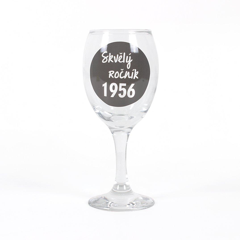 Skleničky na víno - Sklenička na víno - 1956