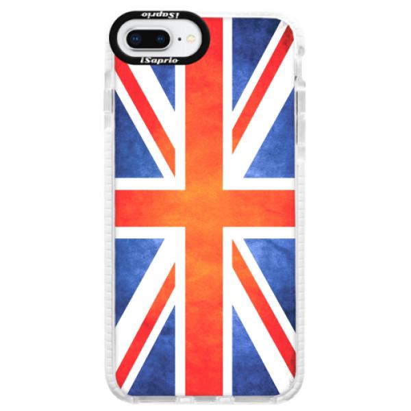 Silikonové pouzdro Bumper iSaprio - UK Flag - iPhone 8 Plus