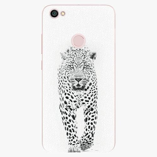 Plastový kryt iSaprio - White Jaguar - Xiaomi Redmi Note 5A / 5A Prime