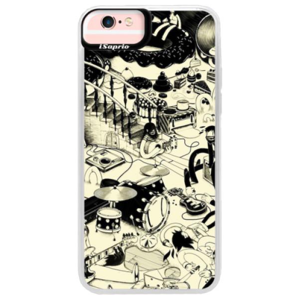 Neonové pouzdro Pink iSaprio - Underground - iPhone 6 Plus/6S Plus