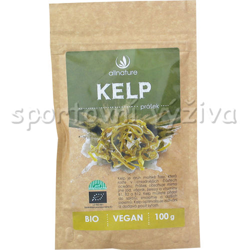 Allnature BIO Kelp prášek 100g