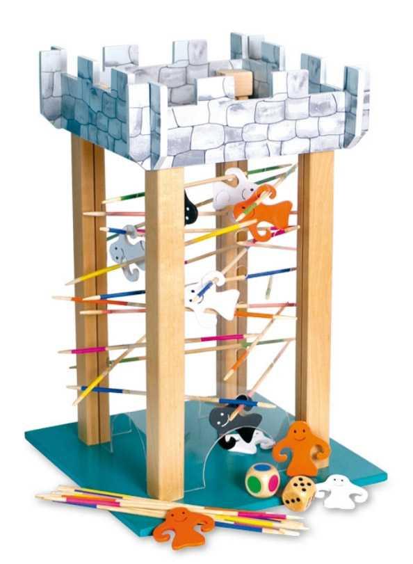 Small Foot Dřevěné hry věž duchů
