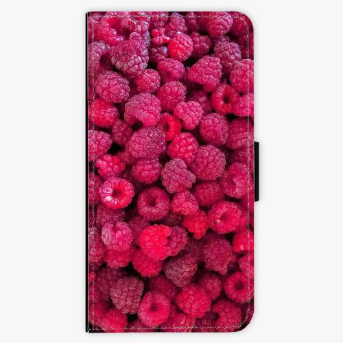 Flipové pouzdro iSaprio - Raspberry - iPhone 6/6S