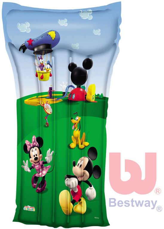 BESTWAY Nafukovací dětská plážová matrace (lehátko) Mickey Mouse 119x61cm