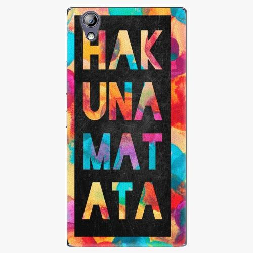 Plastový kryt iSaprio - Hakuna Matata 01 - Lenovo P70
