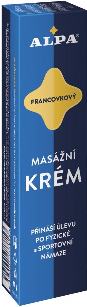 Krém francovkový – bylinný masážní 40 g