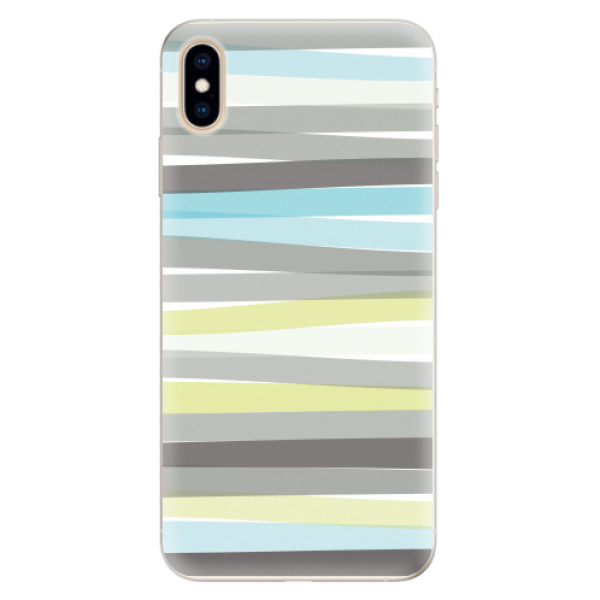 Silikonové pouzdro iSaprio - Stripes - iPhone XS Max