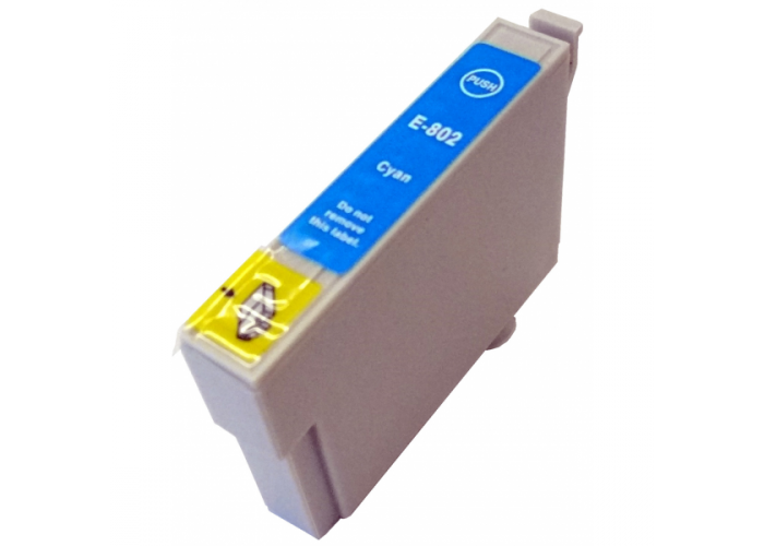 Inkoust T0802 kompatibilní azurový pro Epson Stylus R360 (15ml)