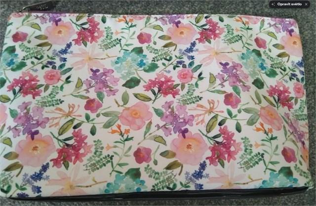 Cestovní kosmetické tašky - Kosmetická taška - Hortenzie