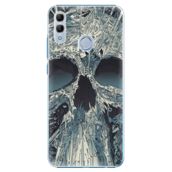 Plastové pouzdro iSaprio - Abstract Skull - Huawei Honor 10 Lite