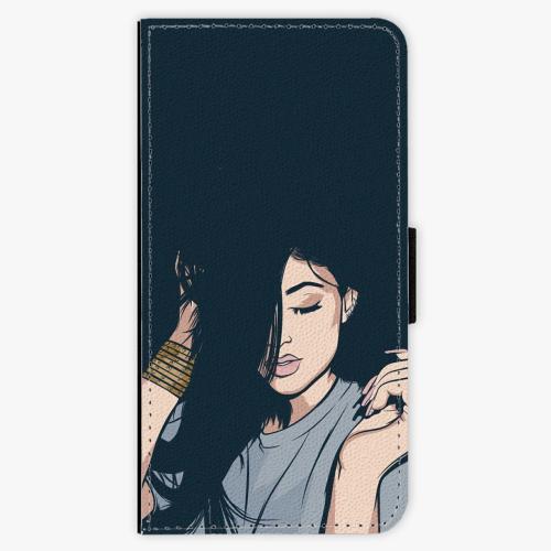 Flipové pouzdro iSaprio - Swag Girl - iPhone 7