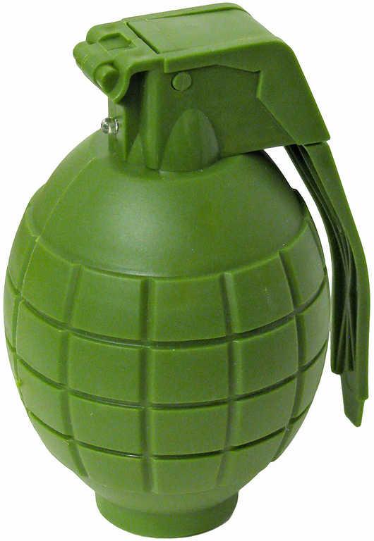 Granát vojenský zelený 9 cm na baterie