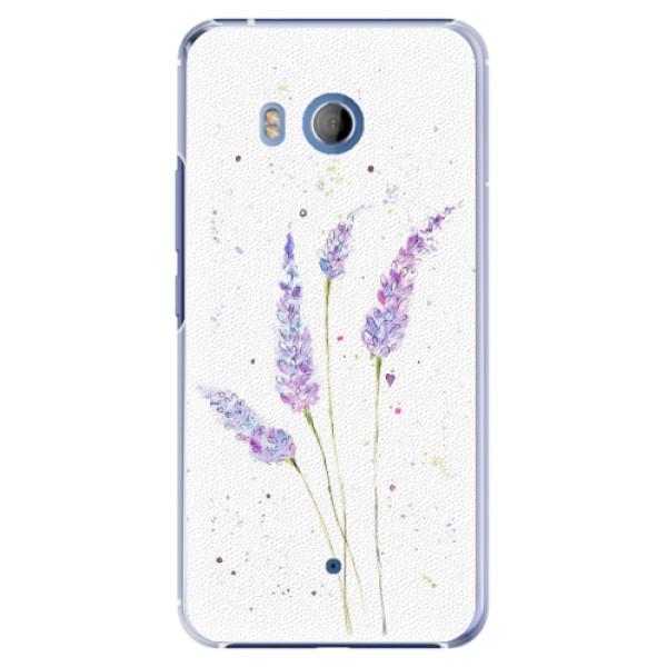 Plastové pouzdro iSaprio - Lavender - HTC U11
