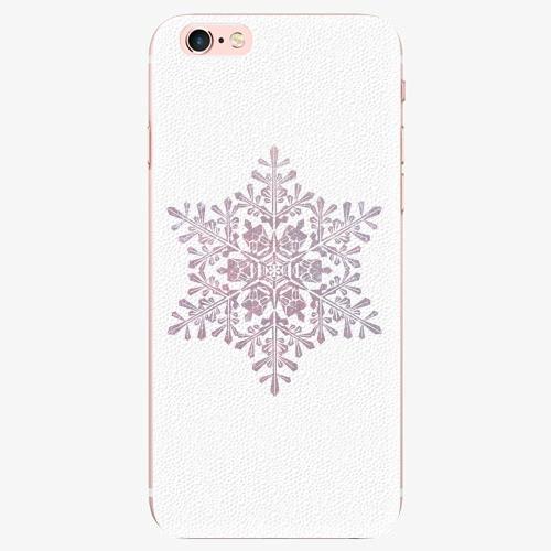 Silikonové pouzdro iSaprio - Snow Flake - iPhone 7