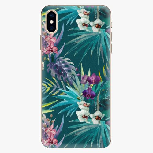 Plastový kryt iSaprio - Tropical Blue 01 - iPhone XS Max