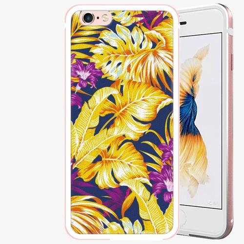 Plastový kryt iSaprio - Tropical Orange 04 - iPhone 6/6S - Rose Gold