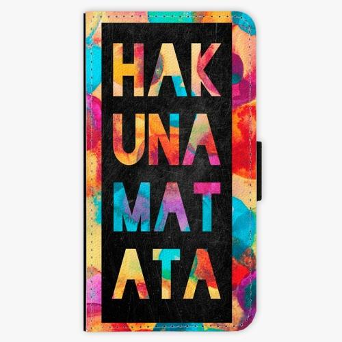 Flipové pouzdro iSaprio - Hakuna Matata 01 - Huawei Ascend P8 Lite