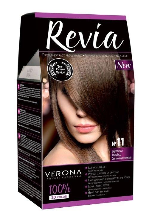 Barva na vlasy světle hnědá 11
