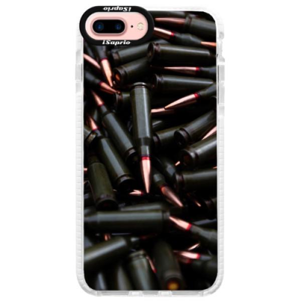 Silikonové pouzdro Bumper iSaprio - Black Bullet - iPhone 7 Plus