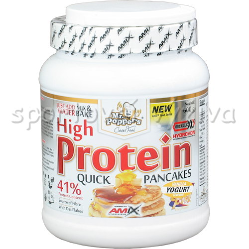 High Protein Pancakes - 600g-natural