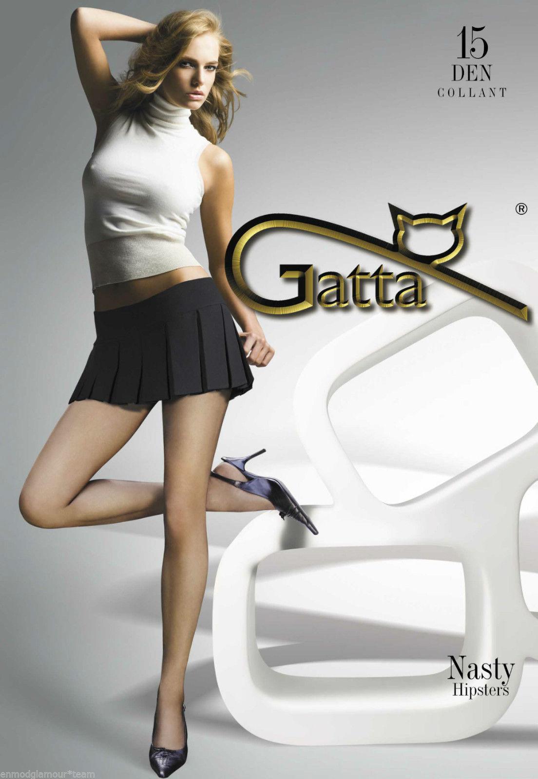 Punčochové kalhoty Nasty 15 Den - Gatta - Nero/S