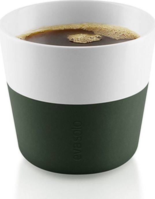 Hrnky na kávu Lungo forest green 230ml, set 2ks, 501056 eva solo