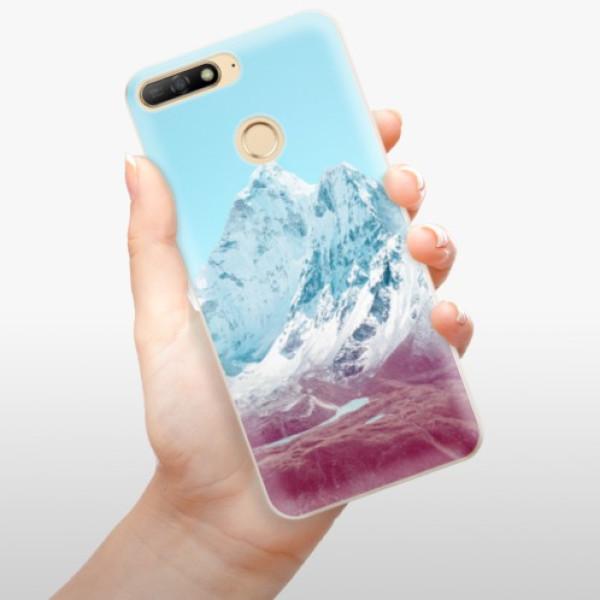 Odolné silikonové pouzdro iSaprio - Highest Mountains 01 - Huawei Y6 Prime 2018