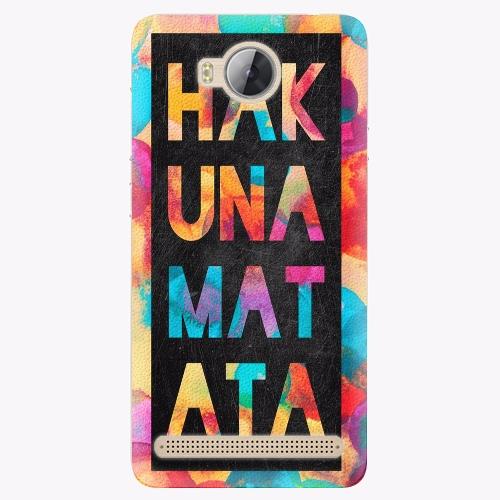 Plastový kryt iSaprio - Hakuna Matata 01 - Huawei Y3 II