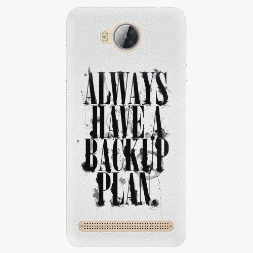 Plastový kryt iSaprio - Backup Plan - Huawei Y3 II
