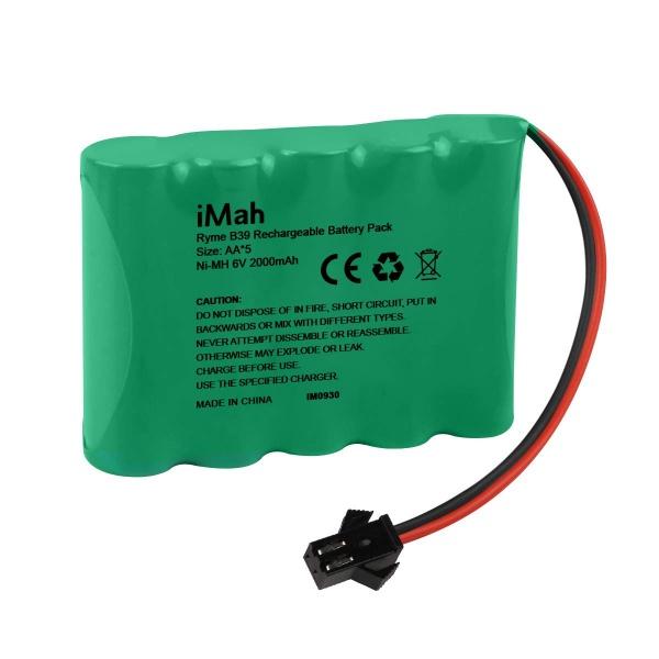 Akumulátor Nimh 2000mAh 6V