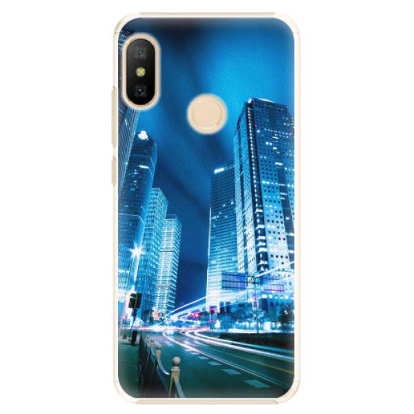 Plastové pouzdro iSaprio - Night City Blue - Xiaomi Mi A2 Lite