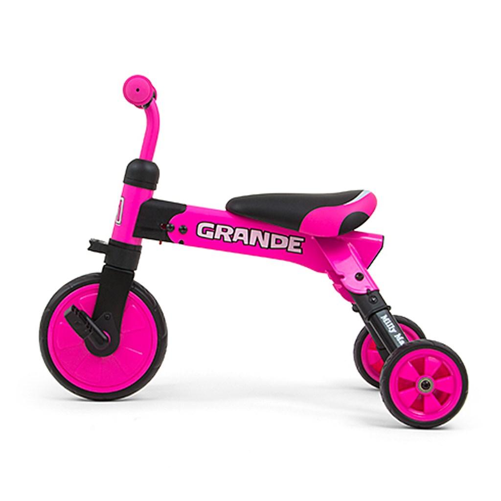 Dětská tříkolka 2v1 Milly Mally Grande