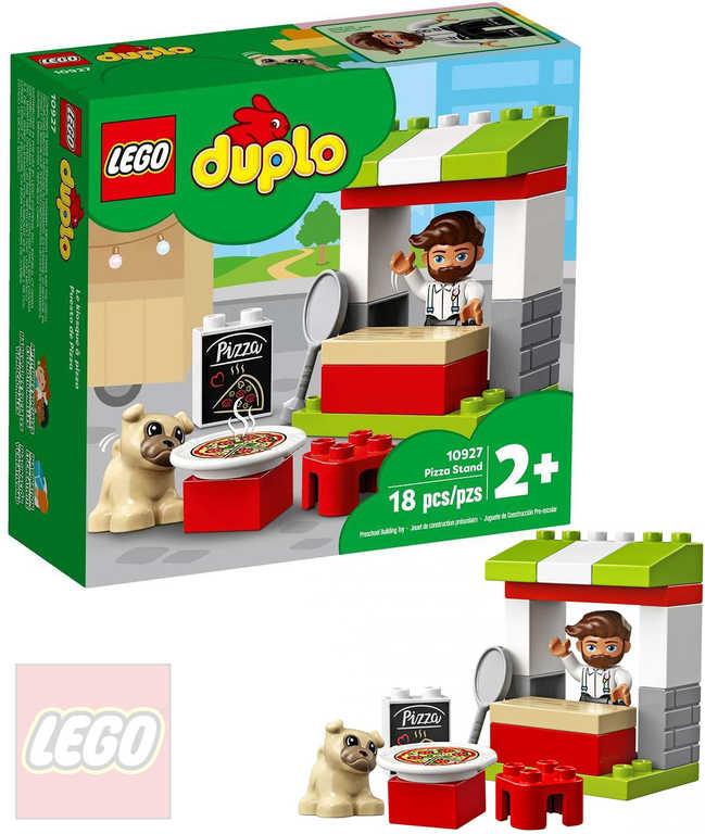 LEGO DUPLO Stánek s pizzou 10927 STAVEBNICE