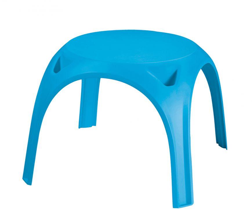 Dětský plastový stolek KIDS TABLE- světle modrý