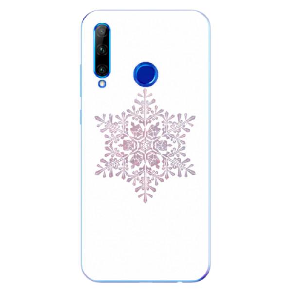 Odolné silikonové pouzdro iSaprio - Snow Flake - Huawei Honor 20 Lite